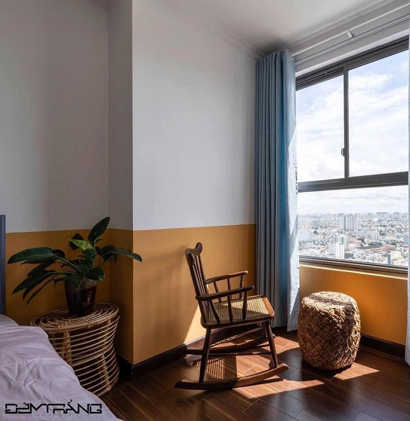 耐久性に優れたアッシュウッドを使用したロッキングチェアロッキングチェア 木製 籐 アッシュウッド デザイナーズチェアー ラウンジチェア ラタン家具 椅子 輸入家具 クッション付 座り心地良い 揺れる おしゃれ#7