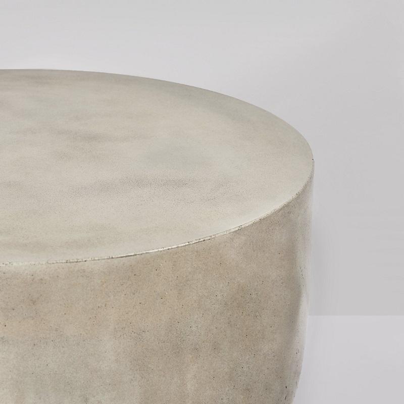 インテリアとしてもオススメ! 丸形コンクリートテーブルコンクリート製 デザイナーズテーブル 円形型 サイドテーブル 丸 センターテーブル 屋外テーブル コーヒーテーブル おしゃれ 40cm 輸入家具 コンクリート家具#3