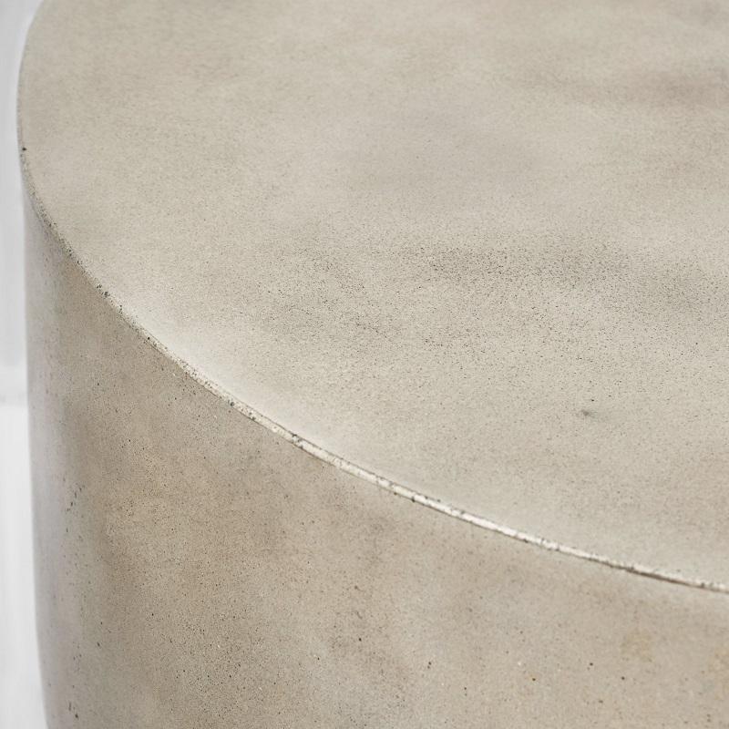 インテリアとしてもオススメ! 丸形コンクリートテーブルコンクリート製 デザイナーズテーブル 円形型 サイドテーブル 丸 センターテーブル 屋外テーブル コーヒーテーブル おしゃれ 40cm 輸入家具 コンクリート家具#4